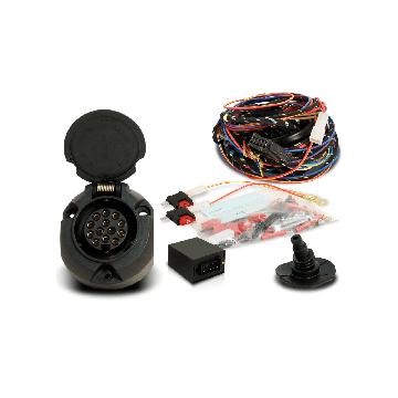 Anhängerkupplung + 13 pol. Elektrosatz Citroen 2CV ( 1979 - jetzt )
