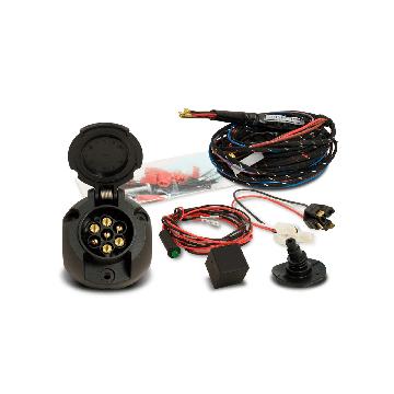 Anhängerkupplung + 7 pol. Elektrosatz Suzuki Swift Fliessheck ( 03.1989 - 02.2005 )