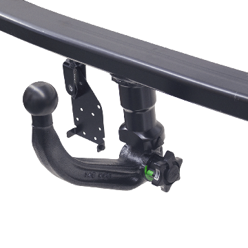 Anhängerkupplung + 7 pol. Elektrosatz Ford Fiesta Fliessheck ( 01.2013 - 06.2017 )