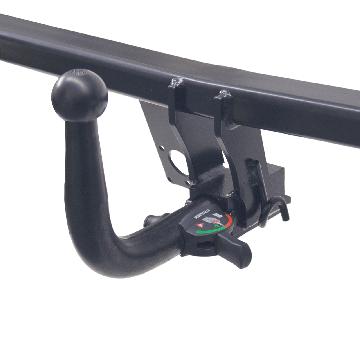 Anhängerkupplung + 13 pol. Elektrosatz Mitsubishi Colt ( 05.2004 - 10.2008 )