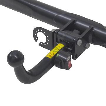 Anhängerkupplung + 13 pol. Elektrosatz Suzuki Swift Fliessheck ( 10.2010 - 06.2017 )