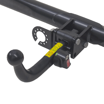 Anhängerkupplung + 13 pol. Elektrosatz Kia Rio Fliessheck ( 06.2011 - 01.2017 )