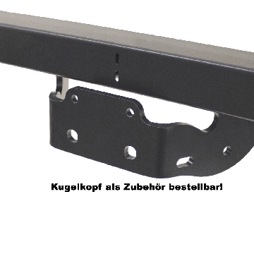 Anhängerkupplung VW Crafter (04.2006 - jetzt) Kasten, Kombi, Bus 4,6t zul. Gesamtgewicht Radstand 3665mm
