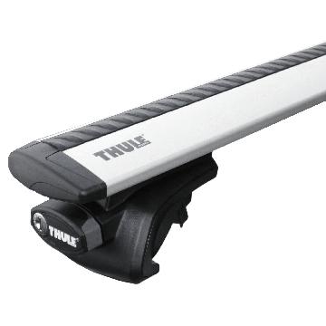 Thule Dachträger WingBar für Suzuki Baleno Kombi 08.1996 - 05.2002 Aluminium