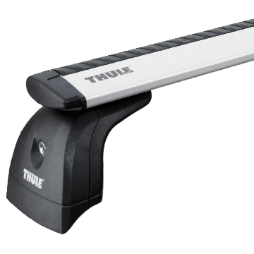 Thule Dachträger WingBar für Fiat Qubo 09.2008 - jetzt Aluminium