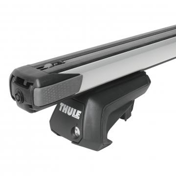 Thule Dachträger SlideBar für Hyundai Trajet 03.2000 - jetzt Aluminium