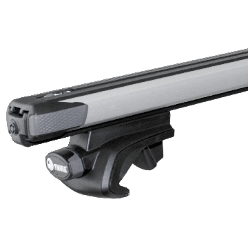 Thule Dachträger SlideBar für Hyundai Atos 02.1998 - jetzt Aluminium