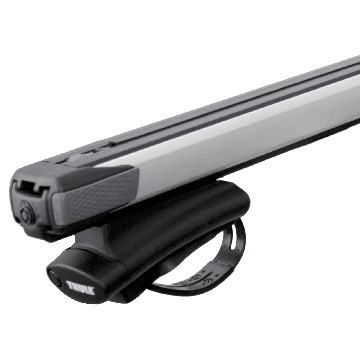 Thule Dachträger SlideBar für Seat Ateca SUV 06.2016 - jetzt Aluminium
