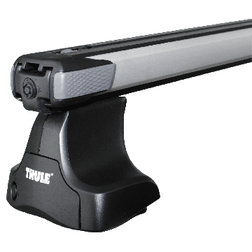 Thule Dachträger SlideBar für Chevrolet Kalos Fliessheck 2005 - jetzt Aluminium