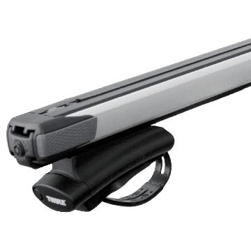 Thule Dachträger SlideBar für Opel Corsa D Combo 02.2012 - 02.2015 Aluminium