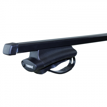 Thule Dachträger SquareBar für Chrysler Jeep Grand Cherokee 06.2005 - 03.2006 Stahl