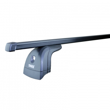 Thule Dachträger SquareBar für Opel Astra F Stufenheck 09.1991 - 09.1998 Stahl
