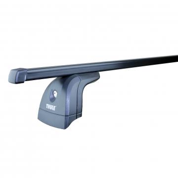 Thule Dachträger SquareBar für Fiat Fiorino Kasten 02.2008 - jetzt Stahl