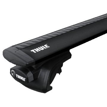 Thule Dachträger WingBar für Fiat Stilo Multiwagon (Kombi) 01.2003 - jetzt Aluminium
