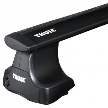 Thule Dachträger WingBar für Nissan Almera Stufenheck 07.2000 - jetzt Aluminium