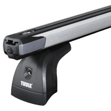 Thule Dachträger SlideBar für VW T6 Aluminium