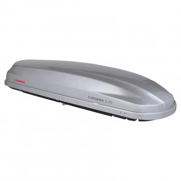 Kamei Dachbox Corvara S 475 grau silber