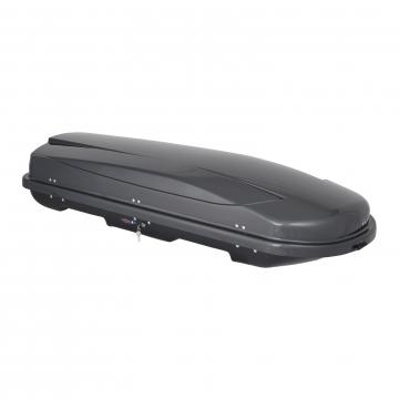 Junior Dachbox Xtreme 450 grau glänzend
