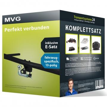 Anhängerkupplung + 13 pol. Elektrosatz Ford Ka Fliessheck (02.2009 - 07.2016)