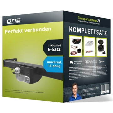 Anhängerkupplung + 13 pol. Elektrosatz Citroen Jumper ( 07.1999 - 04.2002 )