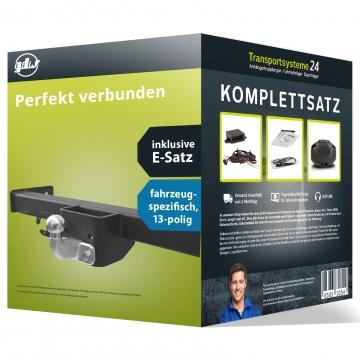 Anhängerkupplung + 13 pol. Elektrosatz Ford Transit Pritsche ( 05.2014 - jetzt )