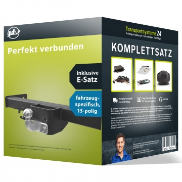 Anhängerkupplung + 13 pol. Elektrosatz Opel Movano ( 04.2010 - jetzt )