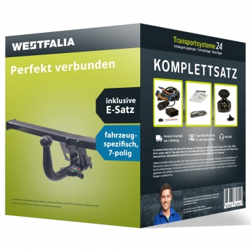 Anhängerkupplung + 7 pol. Elektrosatz Citroen Jumpy ( 01.2007 - 05.2016 )