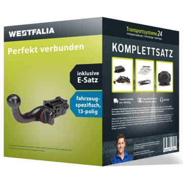 Anhängerkupplung + 13 pol. Elektrosatz Hyundai H1/H300 ( 02.2008 - 06.2015 )