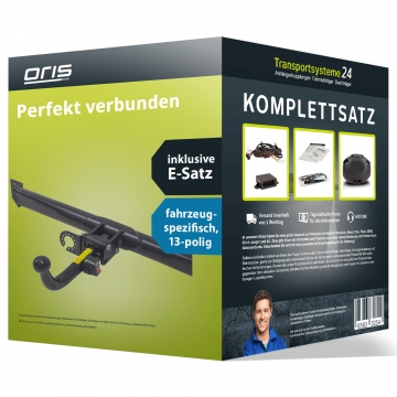 Anhängerkupplung + 13 pol. Elektrosatz Renault Captur ( 05.2013 - jetzt )