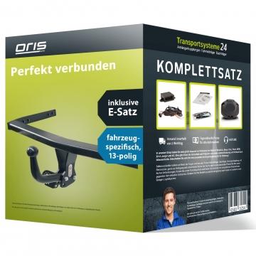 Anhängerkupplung + 13 pol. Elektrosatz Audi A1 ( 05.2010 - jetzt )