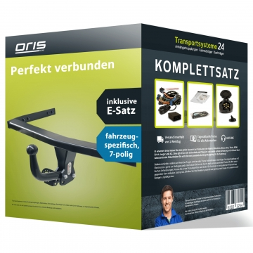Anhängerkupplung + 7 pol. Elektrosatz Citroen C3 Picasso (02.2009 - 08.2017)