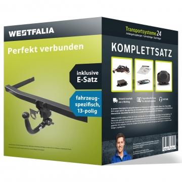 Anhängerkupplung + 13 pol. Elektrosatz Subaru Impreza Fliessheck ( 10.2007 - 05.2012 )