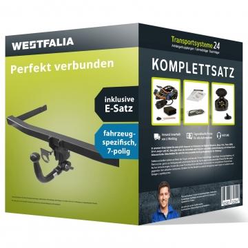 Anhängerkupplung + 7 pol. Elektrosatz Subaru Impreza Fliessheck ( 10.2007 - 05.2012 )