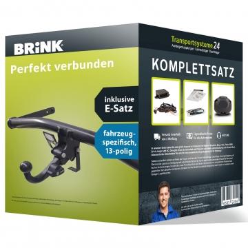 Anhängerkupplung + 13 pol. Elektrosatz Fiat Punto Fliessheck ( 03.2012 - jetzt )