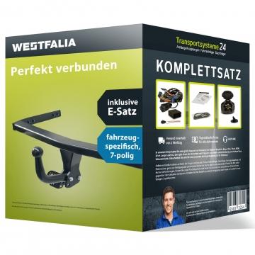 Anhängerkupplung + 7 pol. Elektrosatz BMW 1er Fliessheck Typ F20/F21 (11.2011 - 02.2014)