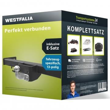 Anhängerkupplung + 13 pol. Elektrosatz Fiat Doblo (03.2015 - jetzt)