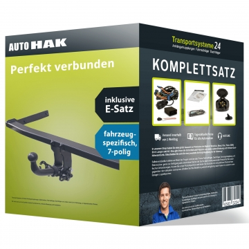 Anhängerkupplung + 7 pol. Elektrosatz Fiat Punto Fliessheck ( 10.2011 - 02.2012 )