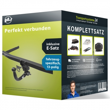 Anhängerkupplung + 13 pol. Elektrosatz Peugeot 508 Stufenheck ( 06.2014 - jetzt )