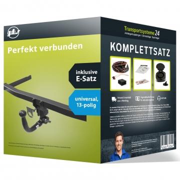 Anhängerkupplung + 13 pol. Elektrosatz VW Beetle Fliessheck ( 01.1998 - 07.2003 )