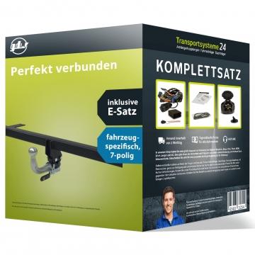 Anhängerkupplung + 7 pol. Elektrosatz Skoda Fabia Fliessheck Typ NJ3 (11.2014 - 07.2018)