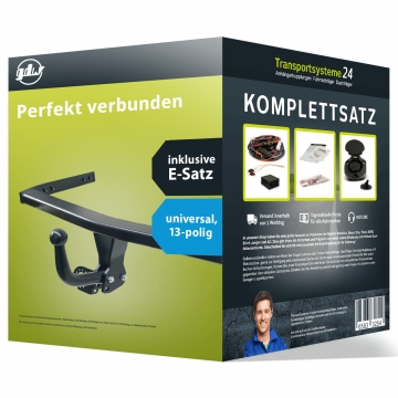 Anhängerkupplung + 13 pol. Elektrosatz Kia Carens ( 11.2000 - 07.2002 )