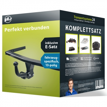 Anhängerkupplung + 13 pol. Elektrosatz Suzuki Celerio (11.2014 - jetzt)