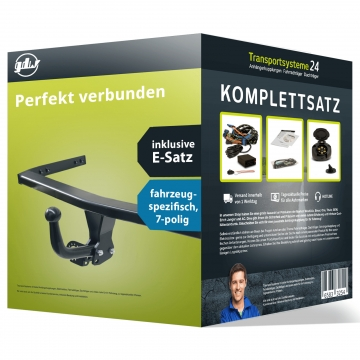 Anhängerkupplung + 7 pol. Elektrosatz Skoda Fabia Kombi (01.2015 - 07.2018)