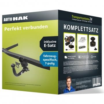 Anhängerkupplung + 7 pol. Elektrosatz Fiat Punto Fliessheck ( 03.2012 - jetzt )