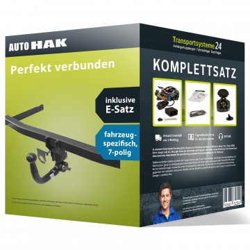 Anhängerkupplung + 7 pol. Elektrosatz Kia Optima ( 03.2012 - 12.2015 )