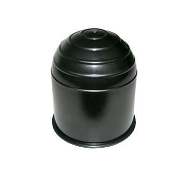 Kugelkopfkappe schwarz