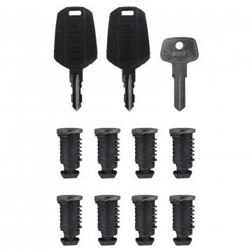 8 Schließzylinder Thule One Key System