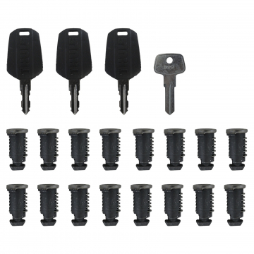 16 Schließzylinder Thule One Key System