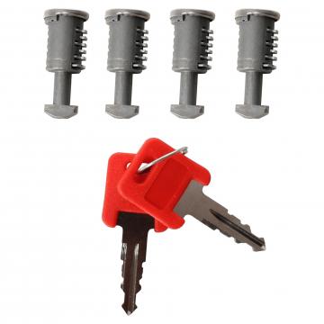 ZB DT 4 Schlösser + 2 Schlüssel G3