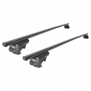 Thule Dachträger SquareBar für Subaru Legacy Outback 11.1998 - 12.2003 Stahl
